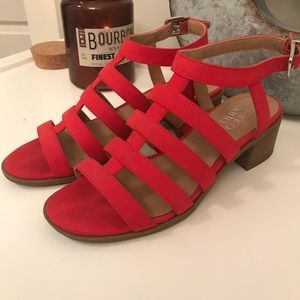 FRANCO SARTO red sandals